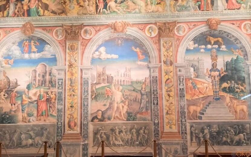 予約してでも行ってみたい!マントヴァ、アルコ宮 イタリア観光ガイド