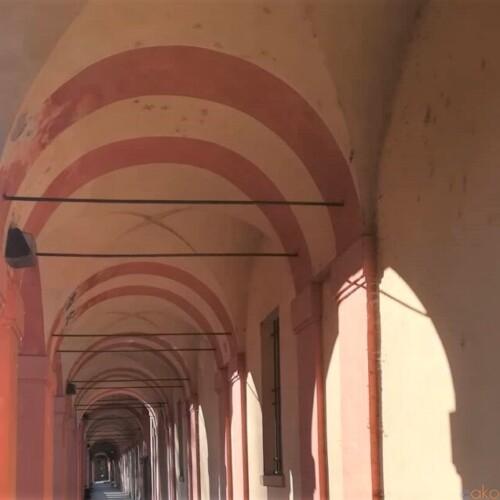 世界一の長さを誇る。ボローニャ、サン・ルカのポルティコ|イタリア観光ガイド