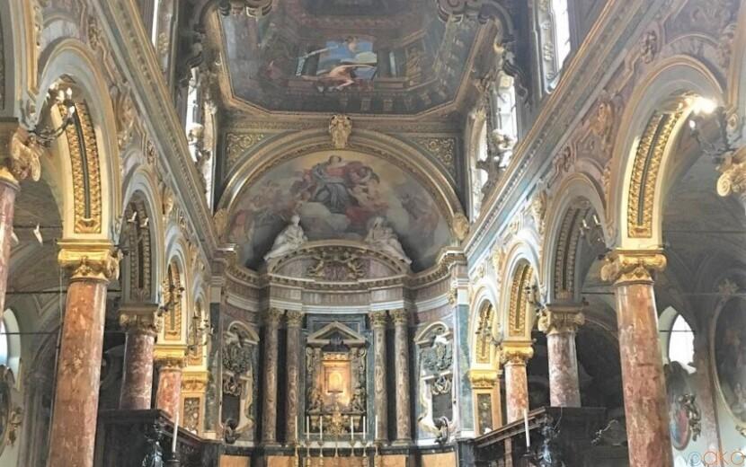 アノ美術館の隣!ローマ、サンタ・マリア・イン・ヴィア・ラータ教会|イタリア観光ガイド