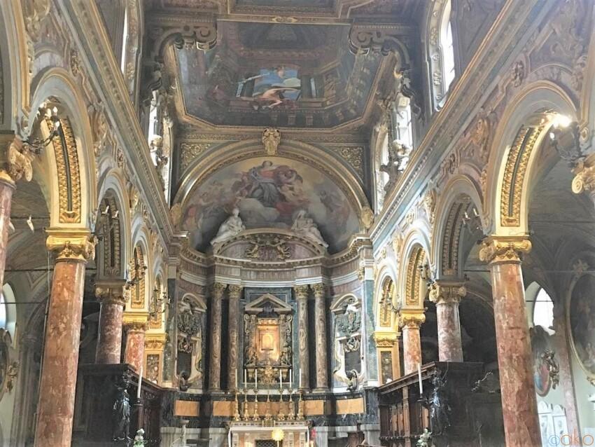 アノ美術館の隣!ローマ、サンタ・マリア・イン・ヴィア・ラータ教会 イタリア観光ガイド