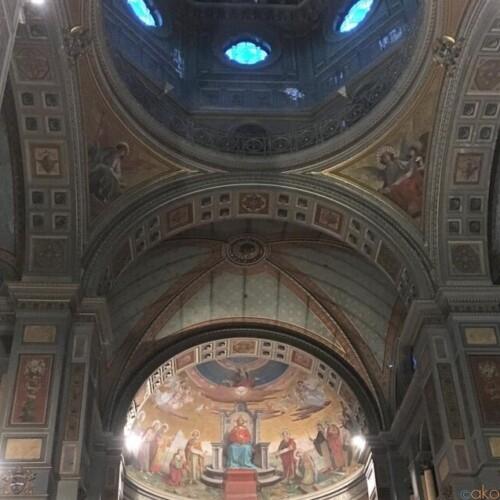 麗しの世界。ローマ、サン・ジョアッキーノ・イン・プラーティ教会|イタリア観光ガイド