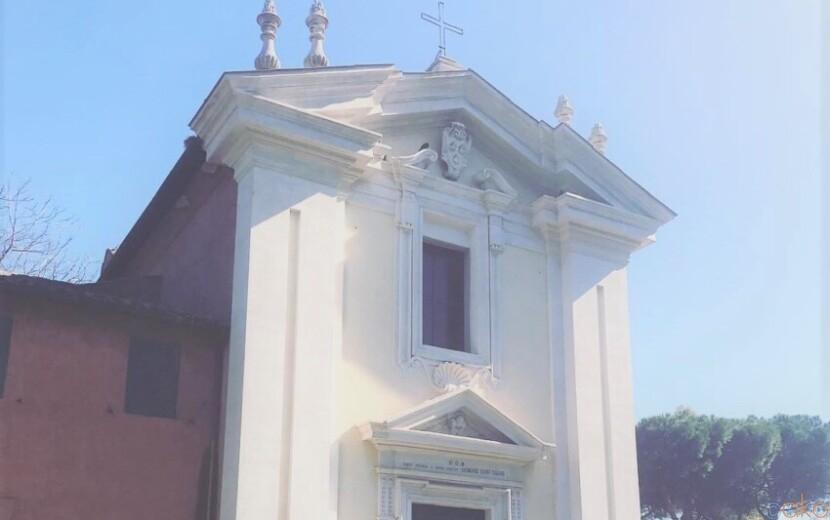謎の足跡を解明せよ!ローマ、ドミネ・クォ・ヴァディス教会|イタリア観光ガイド
