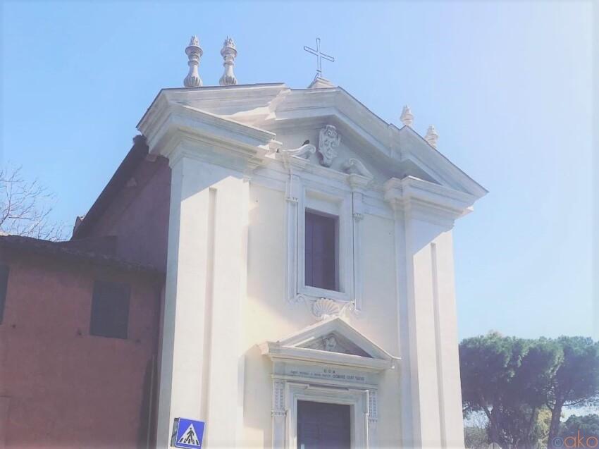 謎の足跡を解明せよ!ローマ、ドミネ・クォ・ヴァディス教会 イタリア観光ガイド