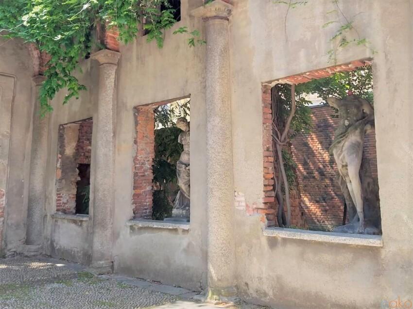 ミラノの街の秘密の庭園、アリスティーデ・カルデリーニ庭園 イタリア観光ガイド