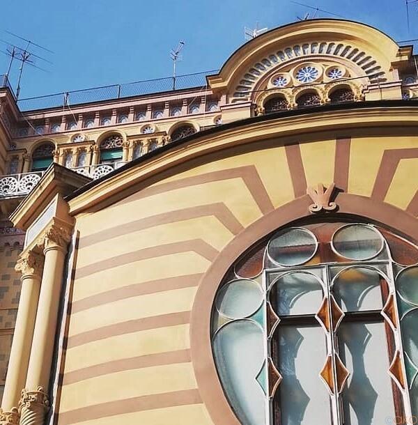 ナポリのリバティ建築がたっくさん。パルコ・マルゲリータ通り|イタリア観光ガイド