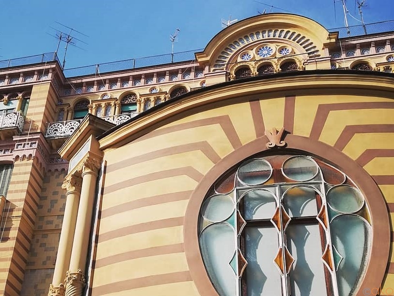 ナポリのリバティ建築がたっくさん。パルコ・マルゲリータ通り イタリア観光ガイド