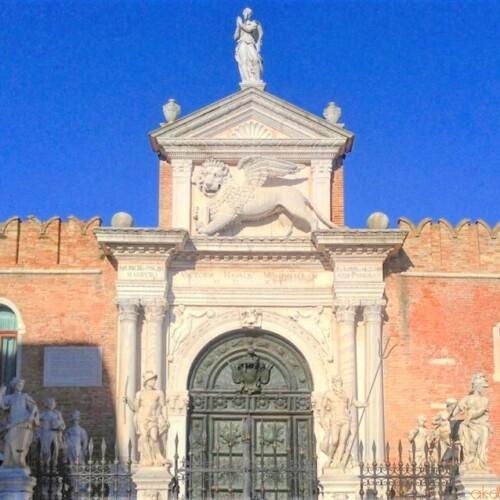 とにかくカッコいい造船場!アルセナーレ・ディ・ヴェネツィア|イタリア観光ガイド