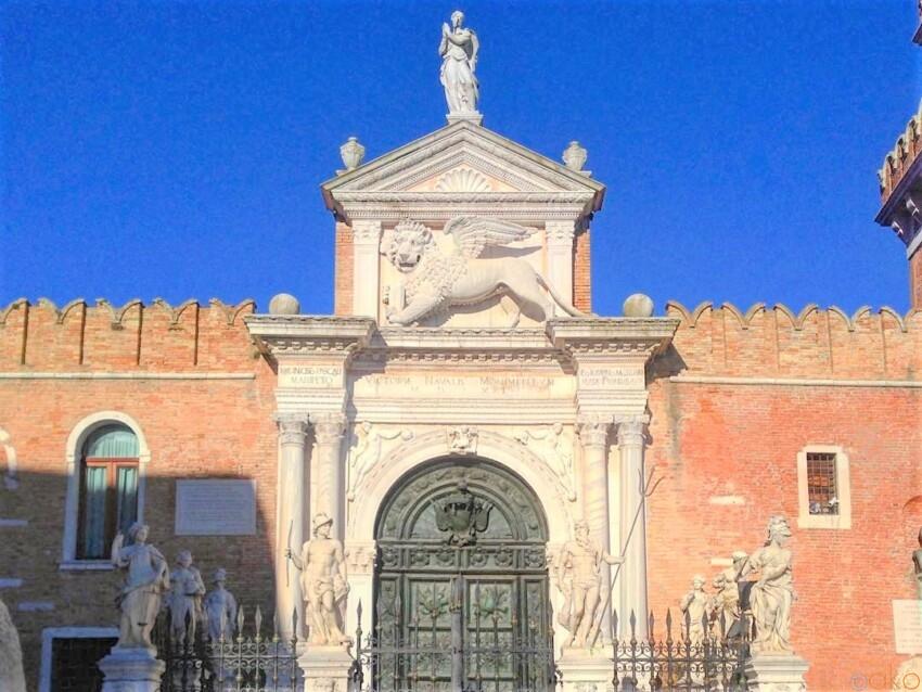 とにかくカッコいい造船場!アルセナーレ・ディ・ヴェネツィア イタリア観光ガイド