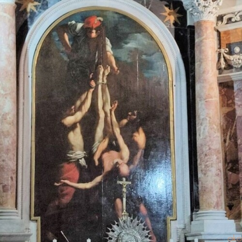 ローマの首塚、サン・パオロ・アル・マルティリオ教会|イタリア観光ガイド