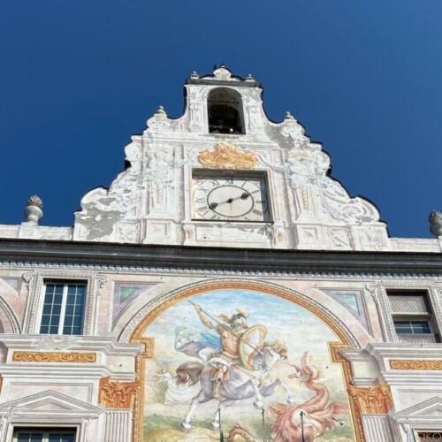 カラフルを纏った宮殿。ジェノヴァ、サン・ジョルジョ宮|イタリア観光ガイド